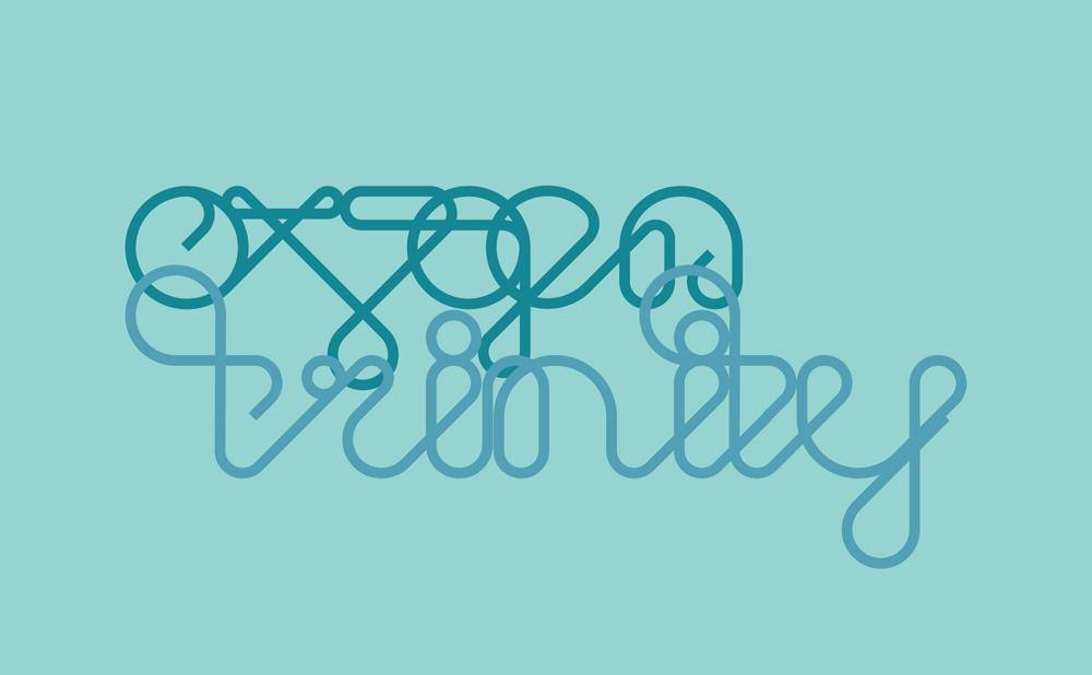 Ox7gen - Trinity - custom typography
