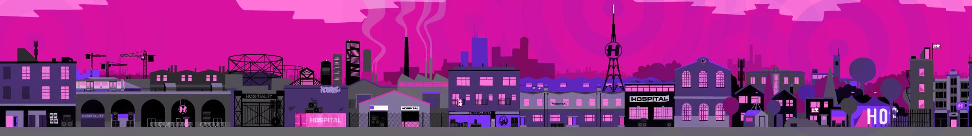Hospitality Bangers Cityscape